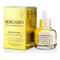 Антивозрастная сыворотка для лица с золотым порошком/ Bergamo Premium Gold Care Ampoule
