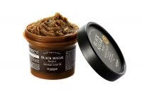 Скраб для лица с черным сахаром / SKINFOOD Black Sugar Perfect Essential Scrub 2X