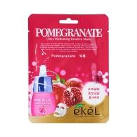 Тканевая маска для лица с экстрактом граната / Ekel Pomegranate Ultra Hydrating Essence Mask
