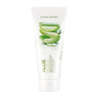 Очищающая пенка для лица на основе Алоэ /Fresh Herb Aloe Cleansing Foam