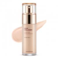 Ампульная база под макияж с коллагеном и золотом 01 / The Face Shop Gold Collagen Ampoule Makeup Base SPF30 PA++