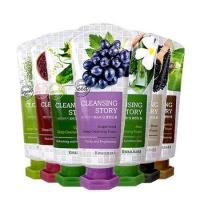 Пенка для умывания на основе экстракта виноградной косточки / Kwailnara Cleansing Story Grape Seed  Deep Cleansing Foam