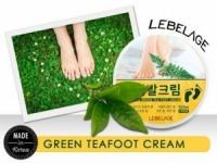 Крем для ног с экстрактом зеленого чая / Green Tea Foot Cream, LEBELAGE
