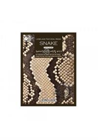 Омолаживающая тканевая маска со змеиным пептидом SYN-AKE / Lebelage Snake Natural Mask