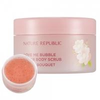 "Сахарный скраб для тела ""Цветочный букет""  / Love Me Bubble Sugar Body Scrub Floral Bouquet"