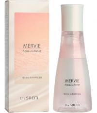 Интенсивно увлажняющий тонер на основе розового планктона /  The Saem Mervie Aquaura Toner
