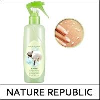 Пилинг-скатка для тела на основе хлопка / Nature Republic Skin Smoothing Body Peeling Mist