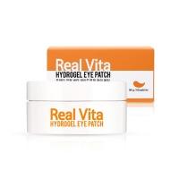 Гидрогелевые  патчи для кожи вокруг  глаз с витаминным комплексом / Pretti: Real Vita Hydrogel Eye Patch