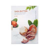 Тканевая маска для лица на основе масла Ши / Shea Butter Around The Nature Mask Sheet