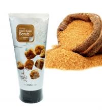 Скраб-пилинг с экстрактом черного сахара и медом  /  Smart Peeling honey black sugar scrub