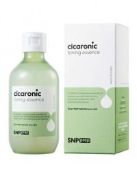 Тонизирующая эссенция для сухой кожи лица с экстрактом листьев центеллы азиатской и гиалуроновой кислотой / SNP Prep Cicaronic Toning Essence