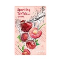 Освежающая маска с вишней / Peripera Sparkling TokTok Time Mask Sheet Cherry Refreshing