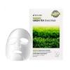 Успокаивающая тканевая маска для лица с экстрактом зеленого чая / 3W Clinic Essential Up Green Tea Sheet Mask