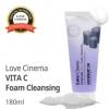 Очищающая пенка для умывания с микрочастицами угля и витамином С/ LOVE CINEMA Vita C Foam Cleansing Charcoal