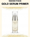 Праймер-сыворотка с частицами золота / HOLIKA HOLIKA Naked Face Gold Serum Primer