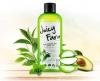 Juicy Farm Nice Green Tea Shot Shower Gel (увлажнение и снятие раздражений/Увлажняющий гель для душа с экстрактом зеленого чая и маслом авокадо