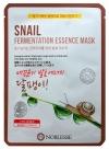 Маска тканевая с муцином улитки / Noblesse Snail Fermentation Essence Mask