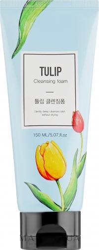 Очищающая пенка для умывания на основе экстракта тюльпана /  Konad Tulip Cleansing Foam