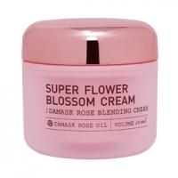 Крем для лица с экстрактом дамасской  розы / Vant 36.5 Super Flower Blossom Cream Damask Rose